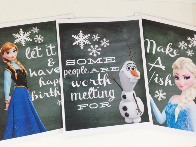 MarthaBonneau Frozen Prints