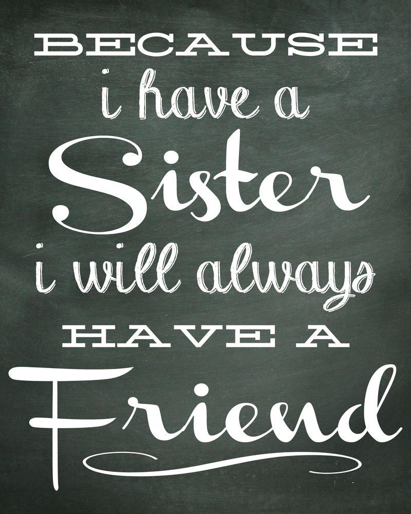 Sister Print